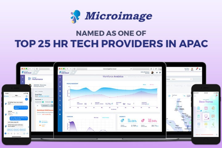 Microimage HCM Named as One of Top 25 HR Tech Providers in APAC