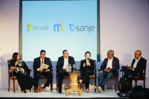 Microsoft together with MiHCM and Tech One Sanje discuss digital  transformation of HR with business leaders 1