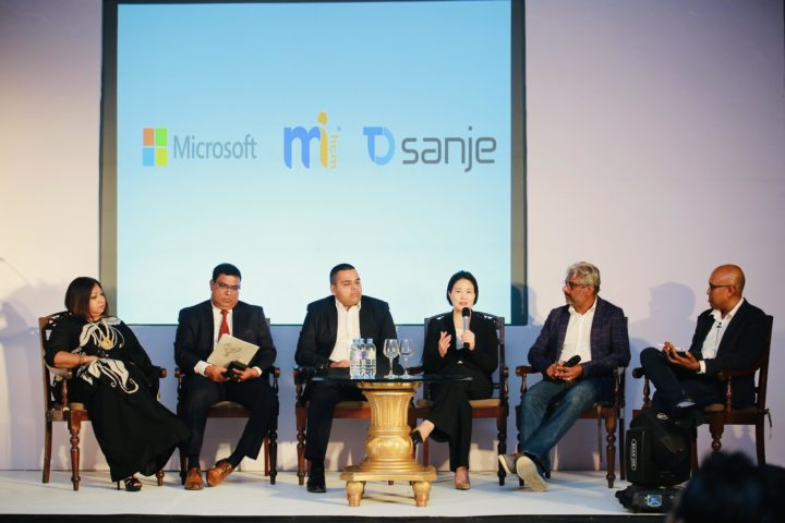 Microsoft together with MiHCM and Tech One Sanje discuss digital  transformation of HRwith businessleaders