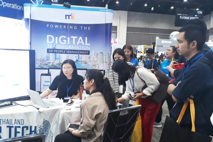 MiHCM gains strong foothold at Thailand HR TECH Expo